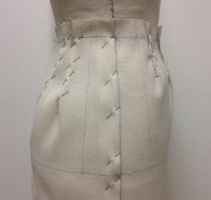 Straight Skirt Drape