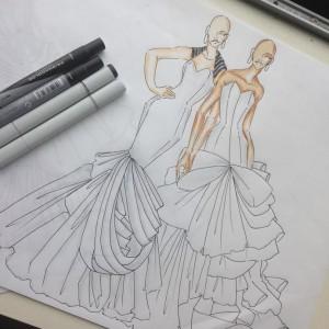 Gowns In Progress