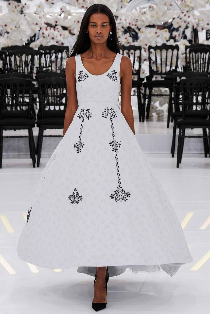 Raf Simons' Nod to Traditional Dior