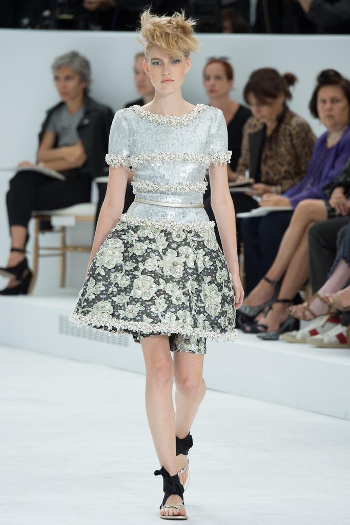Chanel's Skirt + Short Combo