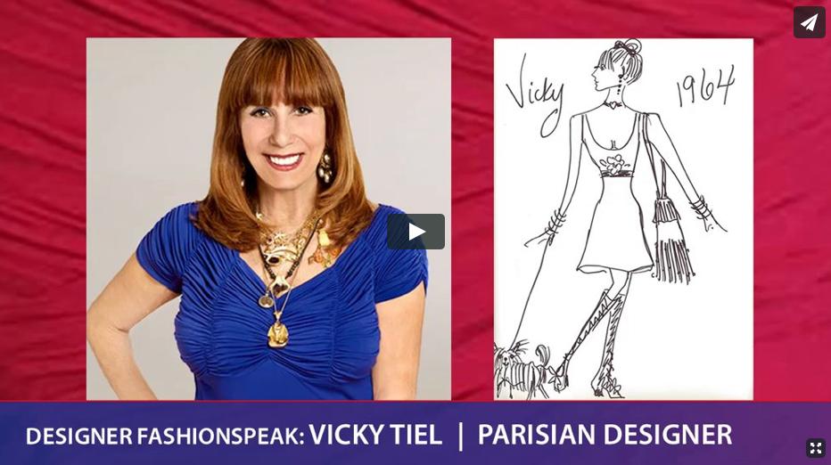 Designer Fashionspeak: Vicky Tiel