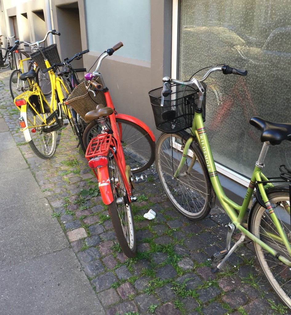 Even the preferred method of transportation provides color story inspiration