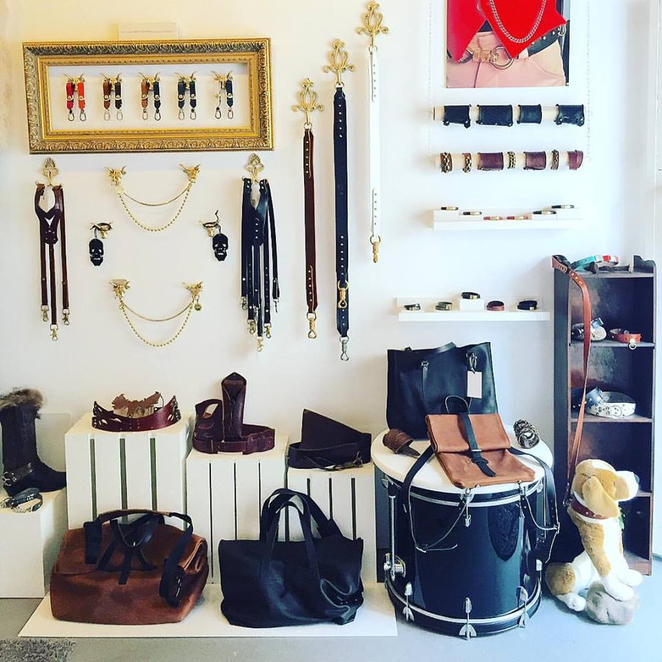 100% of the goods at Leather Bound are hand made