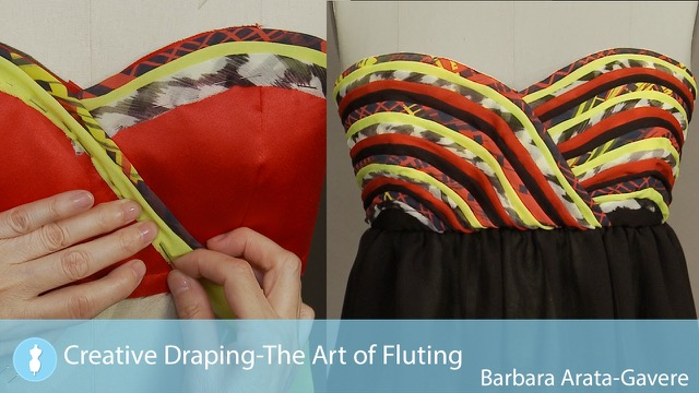 Creative Draping - The Art of Fluting
