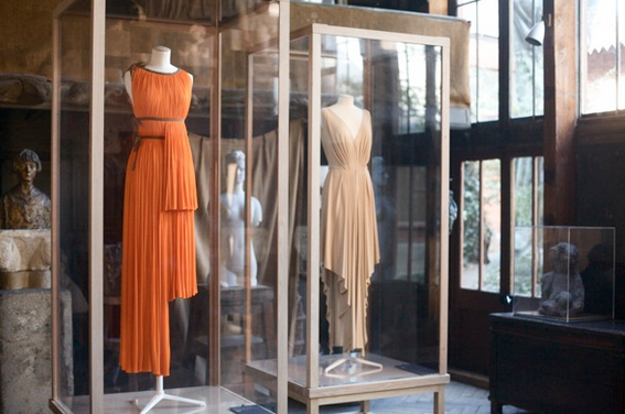 Draped dresses by Madame Grés