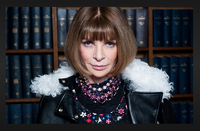 Anna Wintour Image: http://www.telegraph.co.uk/news/celebritynews/11640778/Fashions-ice-queen-Anna-Wintour-opens-up-about-family.html
