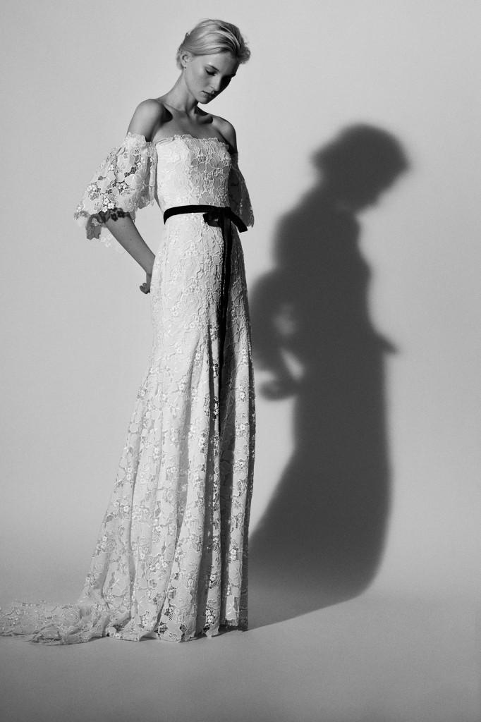 Carolina Herrera Bridal (Courtesy of Vogue.com)