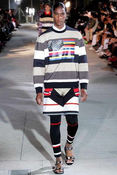 Givenchy Men's Spring 2014 (Courtesy of  Vogue.Com)