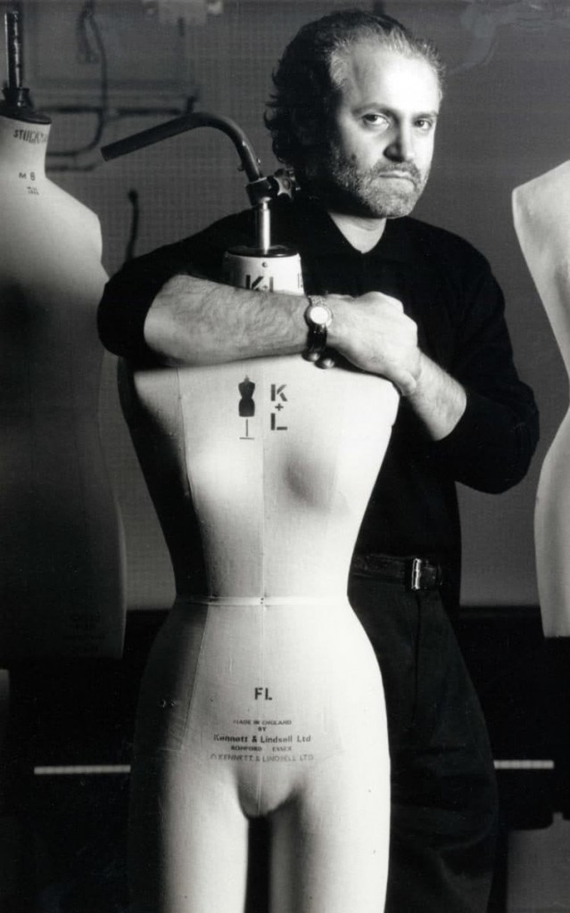 Gianni Versace in 1991 (Courtesy of Herbie Knott/Rex/ShutterStock)