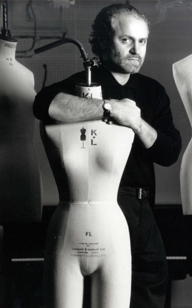 Gianni Versace in 1991 (Courtesy of Herbie Knott/Rex/ShutterStock)