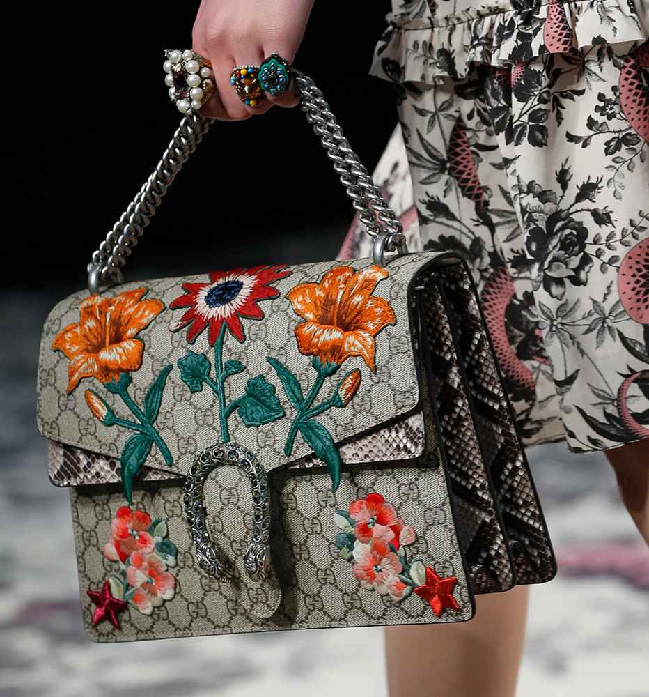 Gucci Spring 2016 (Courtesy of Purseblog.com)