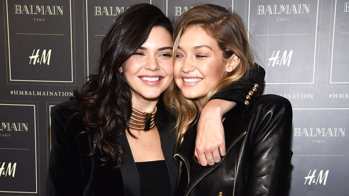 Kendall Jenner and Gigi Hadid  (Courtesy of Getty)