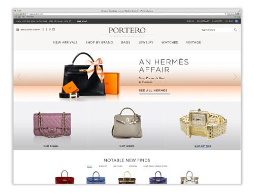 Portero Site Page