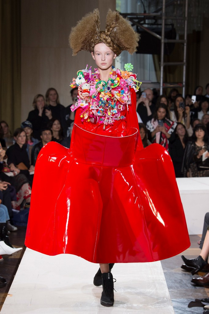 Comme des Garçons (Photo Courtesy of  Vogue.Com)