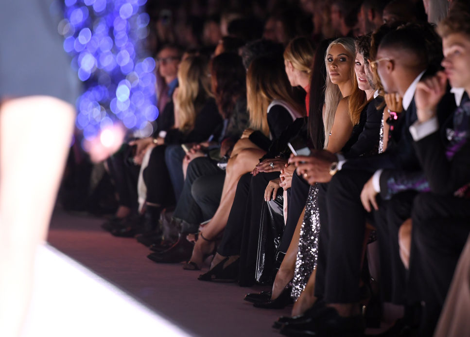 Front Row at New York Fashion Week (Courtesy of AOL.Com)