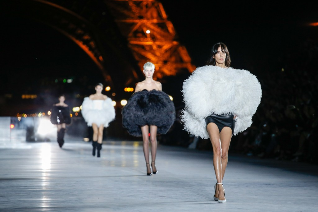 Saint Laurent  (Photo Courtesy of  Vogue.Com)
