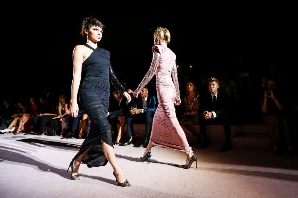 Tom Ford's Spring 2018 Show (Courtesy of Vogue.com)