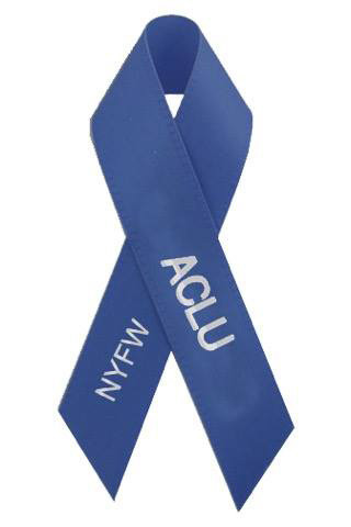 ACLU Fashion Week Pin (Courtesy of New York Post.com)