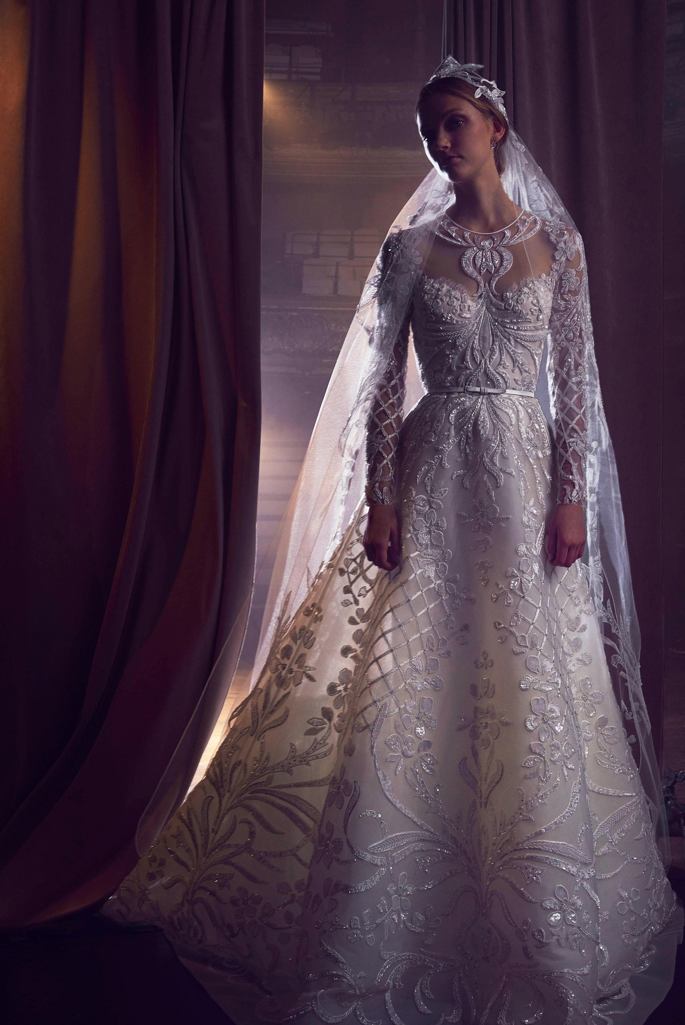 Christina Mourad S Wedding Dress Details As She Weds Elie Saab