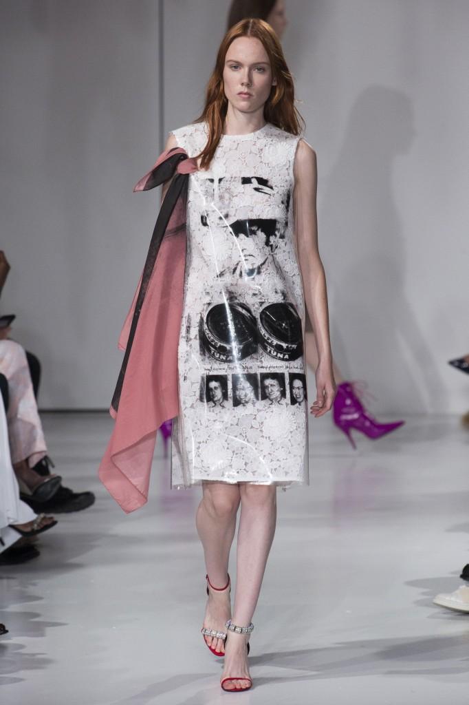 Calvin Klein Spring 2018 Show (Photo courtesy of Vogue.com)