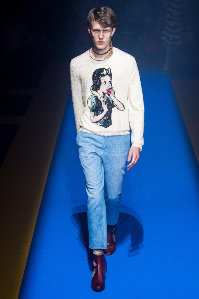 Gucci Spring 2018 Show (Photo courtesy of Vogue.com)