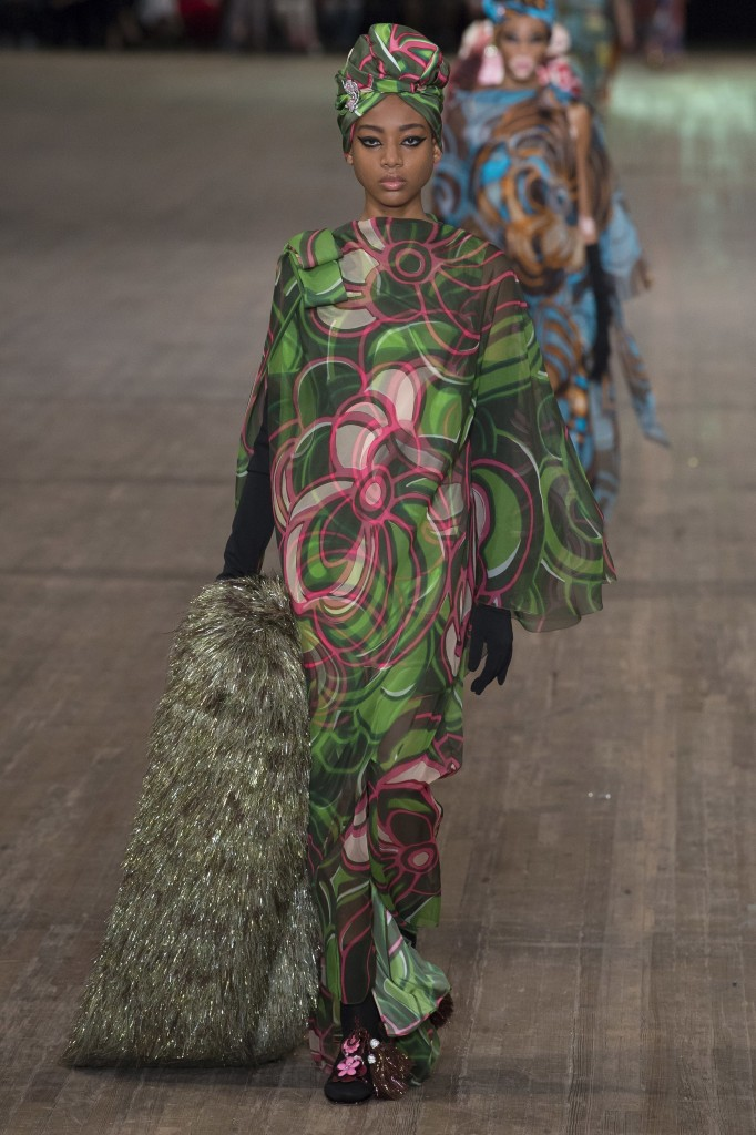 Marc Jacobs Spring 2018 Show (Photo courtesy of Vogue.com)