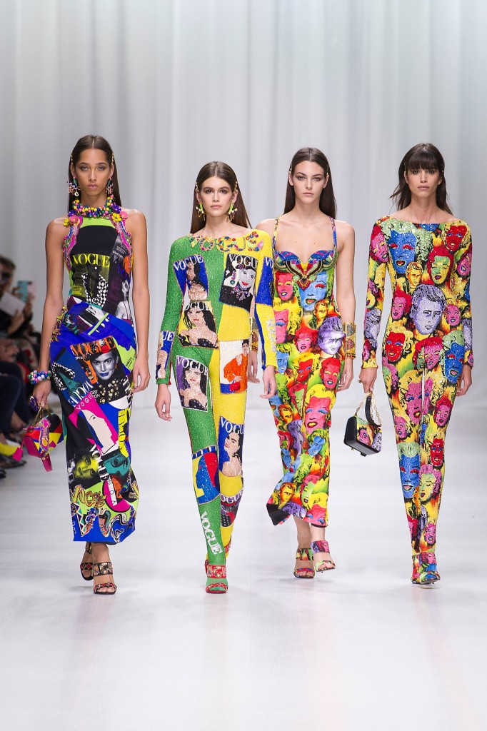 Versace Spring 2018 Show (Photo courtesy of Vogue.com)