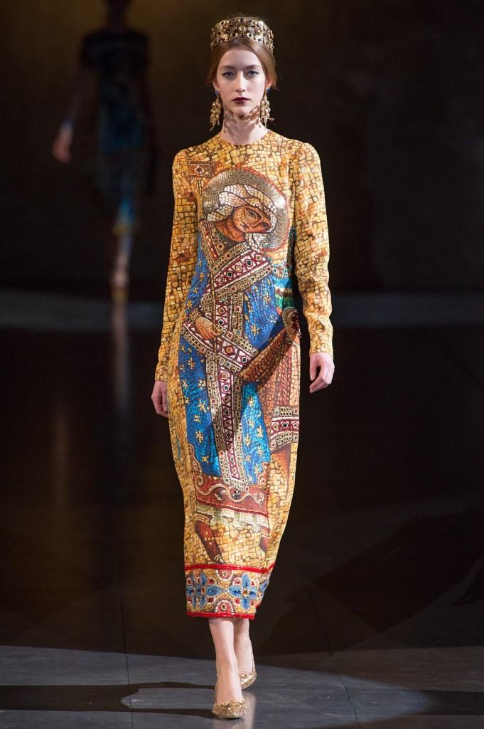 Dolce & Gabbana Fall 2013 Collection (Photo courtesy of Vogue.com)