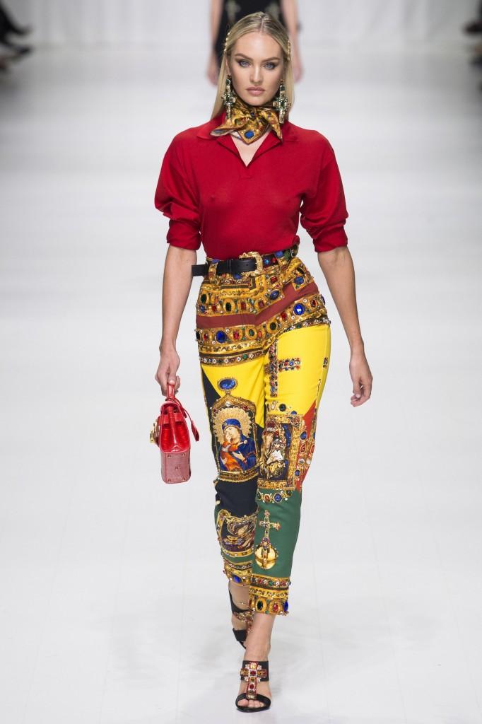 Versace Spring 2018 (Photo courtesy of Vogue.com)