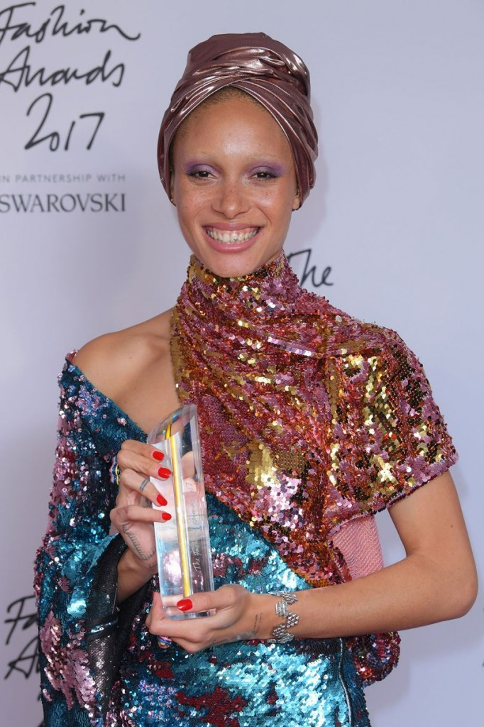 Adwoa Aboah, Model of the Year (Photo courtesy of Getty Images)