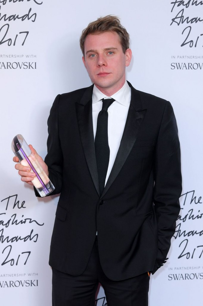 British Designer of the Year - Womenswear Jonathan Anderson for JW Anderson (Photo courtesy of Getty Images)