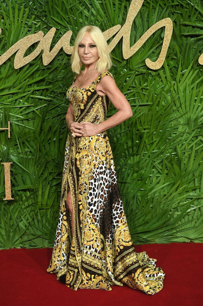 Fashion Icon Award: Donatella Versace & House of Versace (Photo courtesy of  Getty Images)