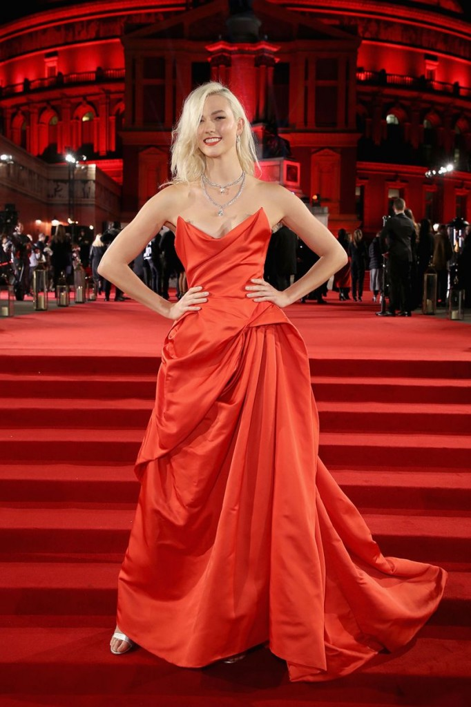 Karlie Kloss in Vivienne Westwood Couture (Photo courtesy of Getty Images)
