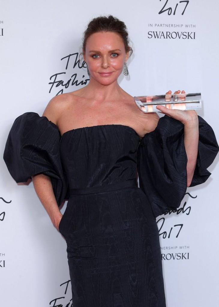 Special Recognition Award for Innovation: Stella McCartney (Photo courtesy of  Getty Images)