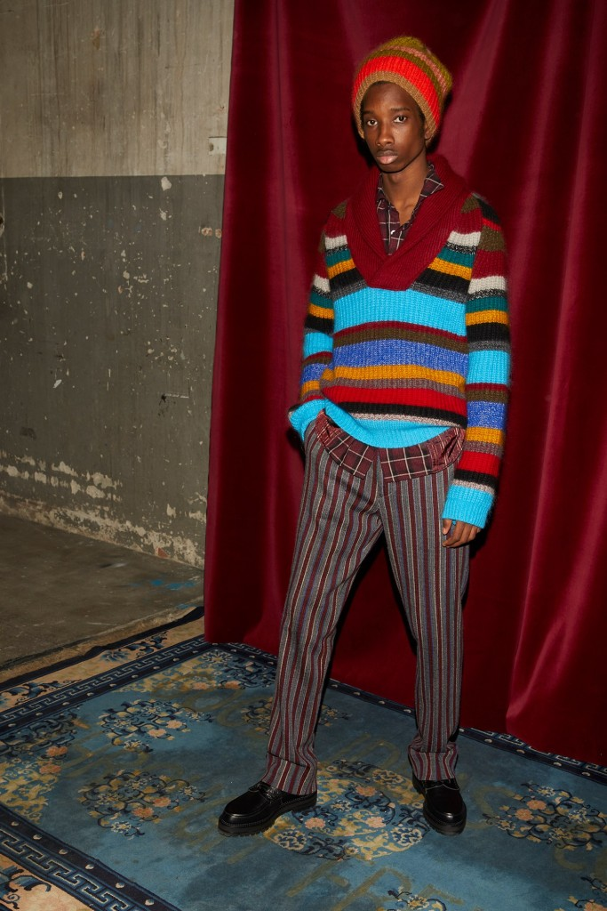 Missoni Men's 2018 Fall Collection (Photo Courtesy of Missoni)