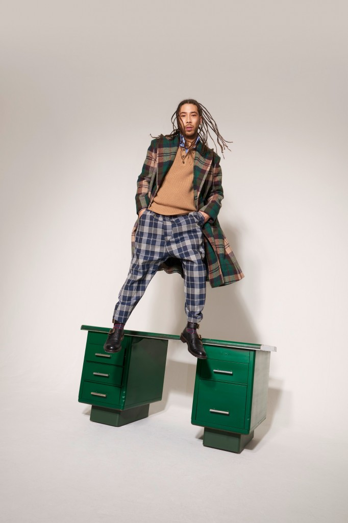 Vivienne Westwood Men's 2018 Fall Collection (Photo Courtesy of Vivienne Westwood)