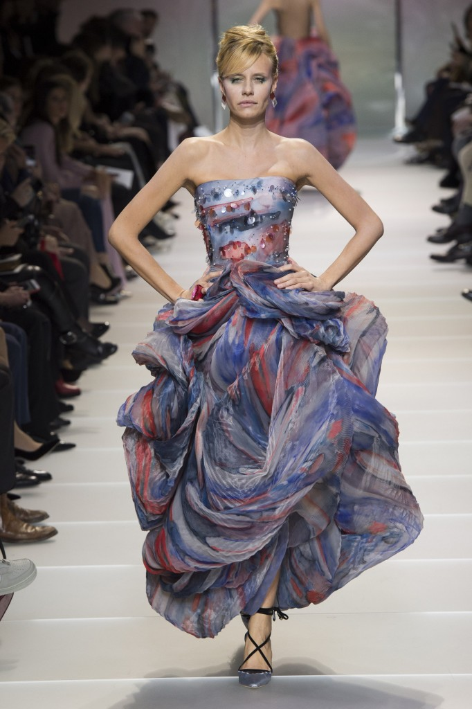 Armani Privé's spring couture collection (Photo courtesy of Vogue.Com)