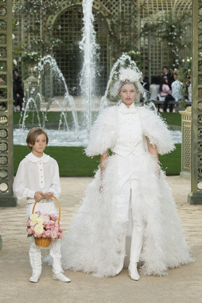 Chanel's spring couture collection (Photo courtesy of Vogue.Com)