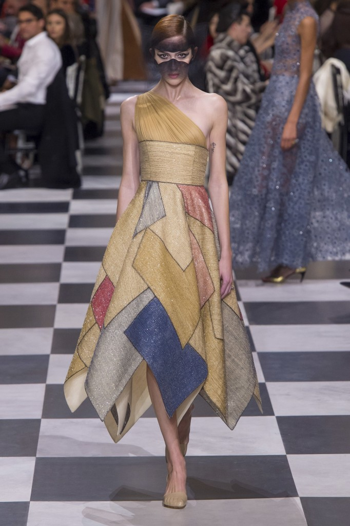 Christian Dior's spring couture collection (Photo courtesy of Vogue.Com)