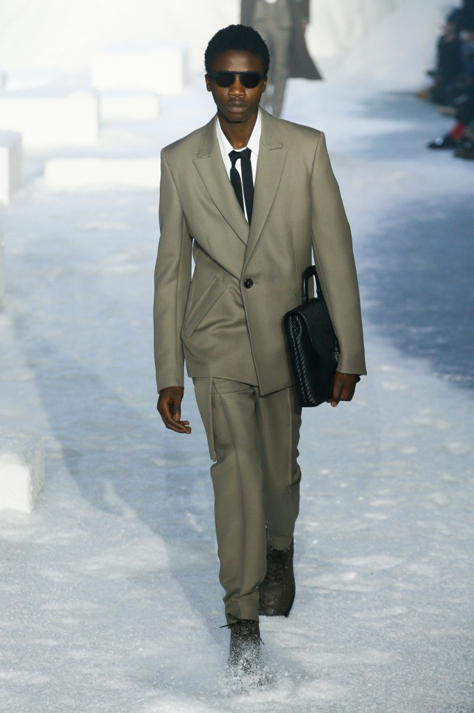 Ermenegildo Zegna Men's 2018 Fall Collection (Photo Courtesy of Vogue.com)