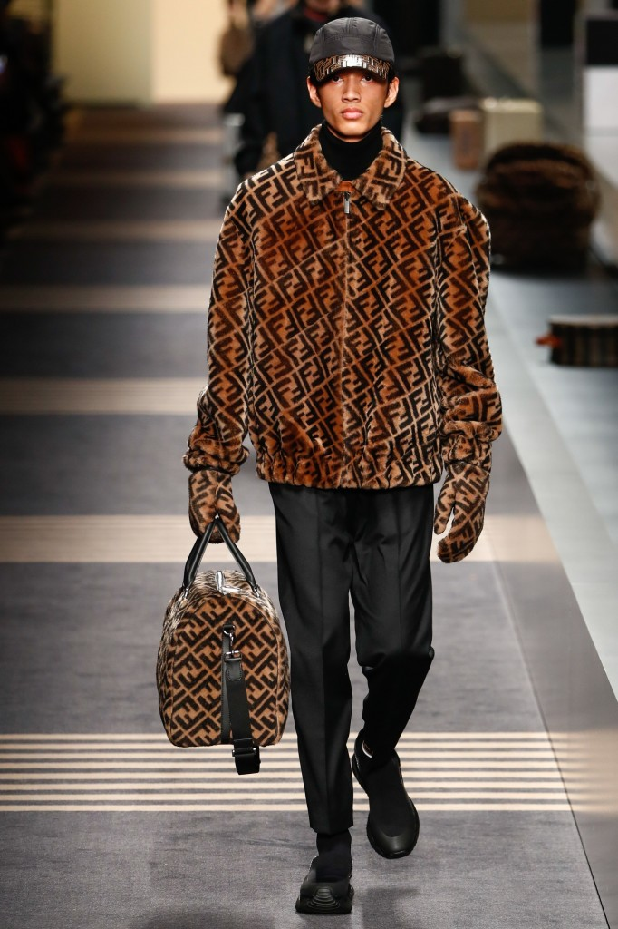 Fendi Men's 2018 Fall Collection (Photo Courtesy of Vogue.com)