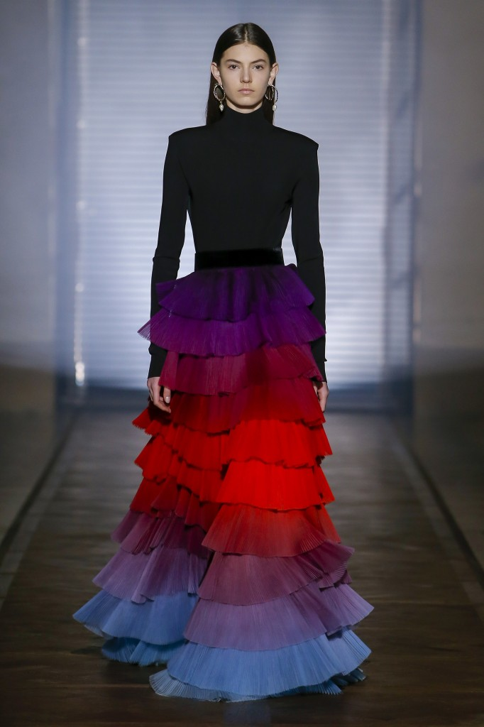 Givenchy's spring couture collection (Photo courtesy of Vogue.Com)