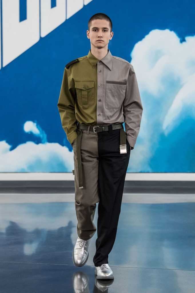 Gosha Rubchinskiy Men's 2018 Fall Collection (Photo Courtesy of Vogue.com)