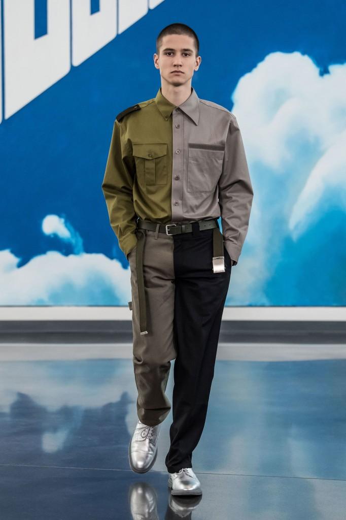 Gosha Rubchinskiy Men's 2018 Fall Collection (Photo Courtesy of Vogue.com)