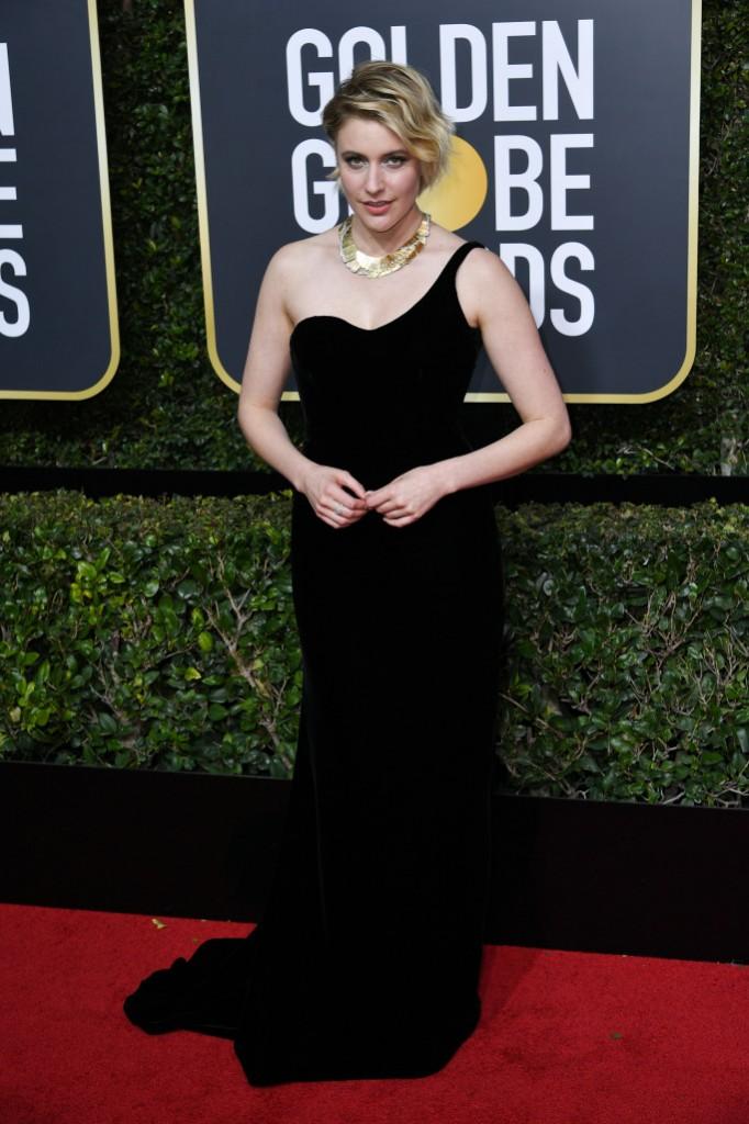 Greta Gerwig in Oscar de la Renta