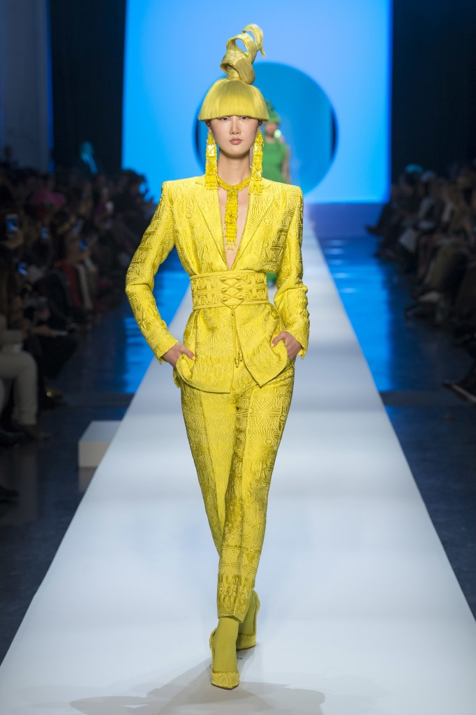 Jean Paul Gaultier's spring couture collection (Photo courtesy of Vogue.Com)