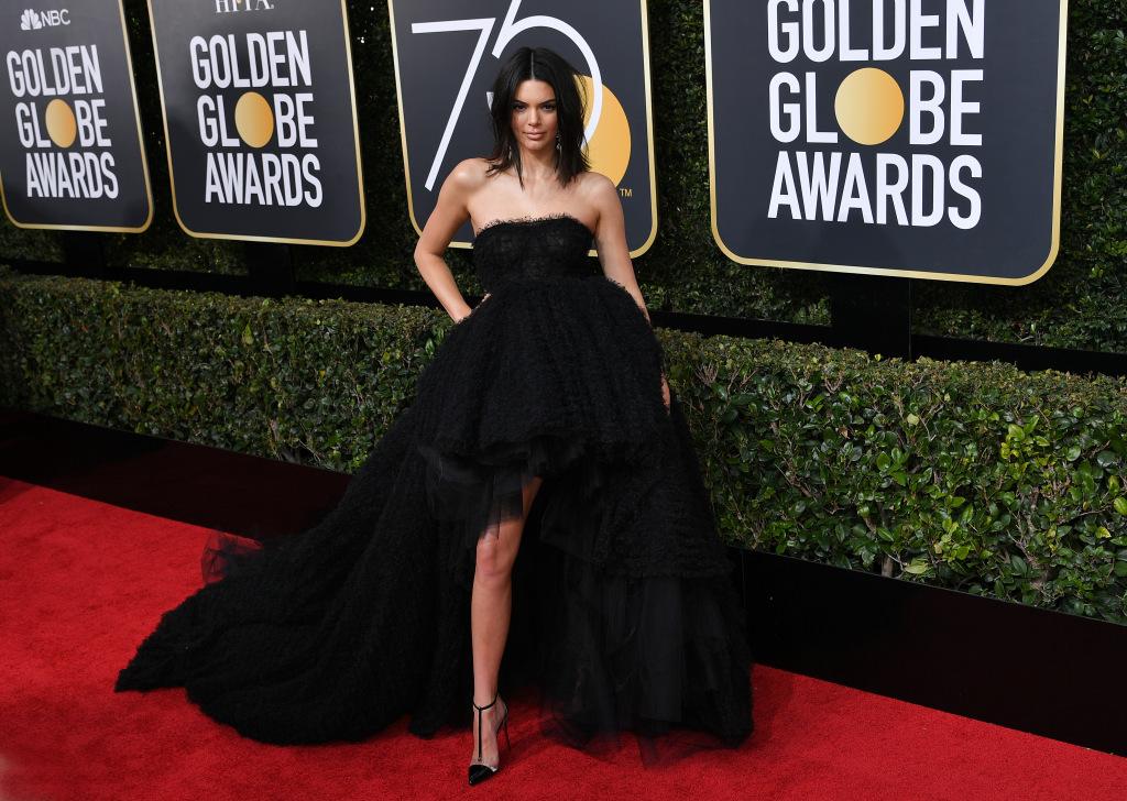Kendall Jenner in Giambattista Valli Haute Couture