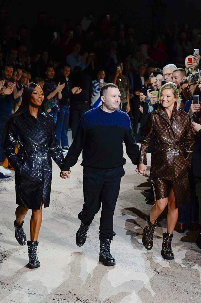 Naomi Campbell, Kim Jones and Kate Moss (Photo Courtesy of Vogue.Com)