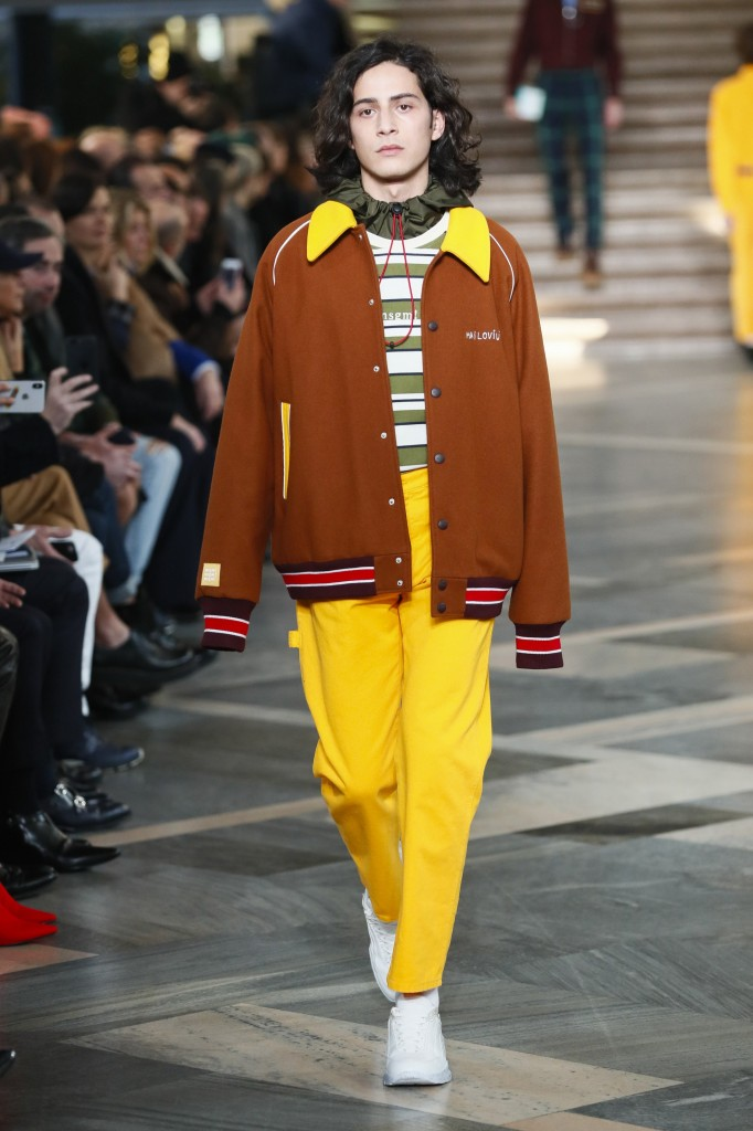 MSGM Men's 2018 Fall Collection (Photo Courtesy of Vogue.com)