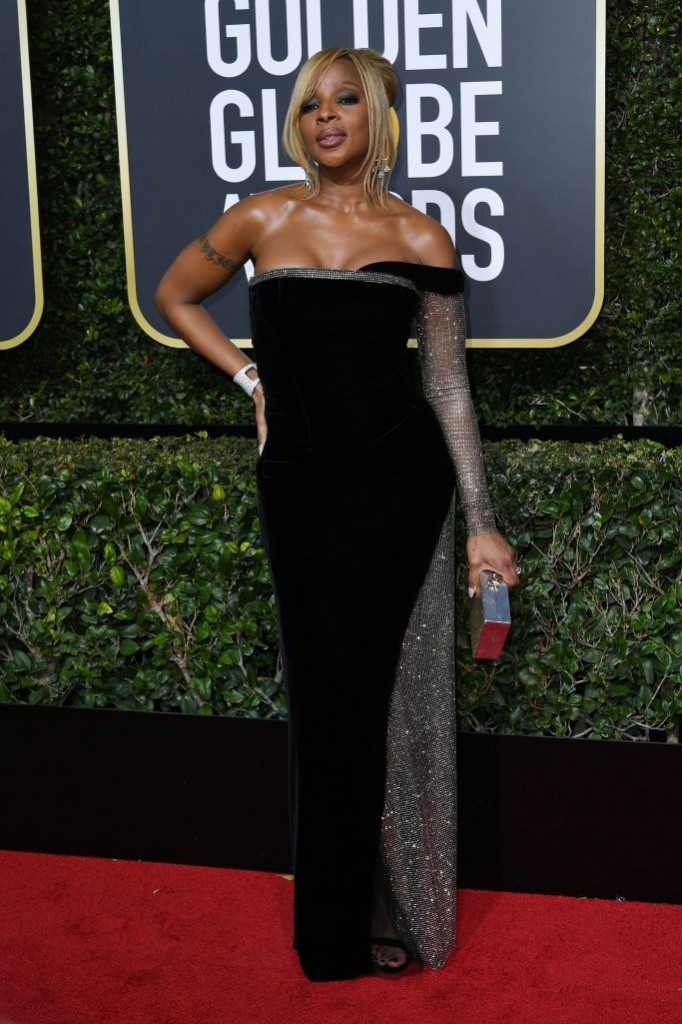 Mary J. Blige in Custom Alberta Ferretti
